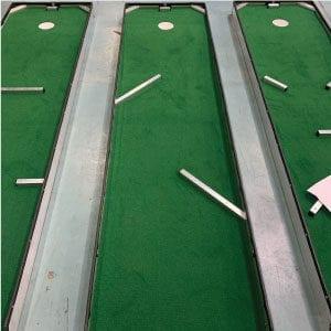 hole 6 portable mini golf course mobile miniature putt putt