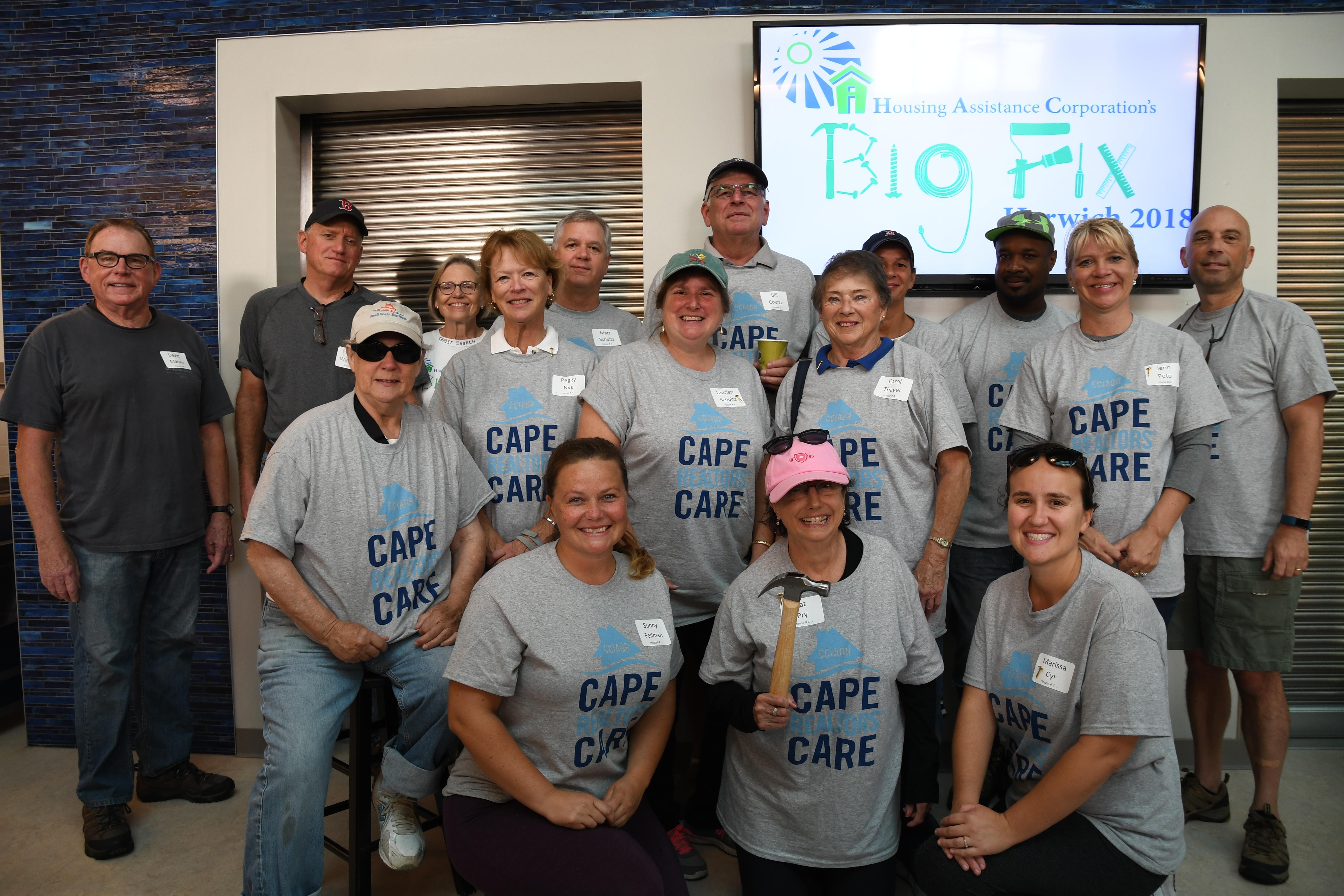 Cape Realtors Care Photo