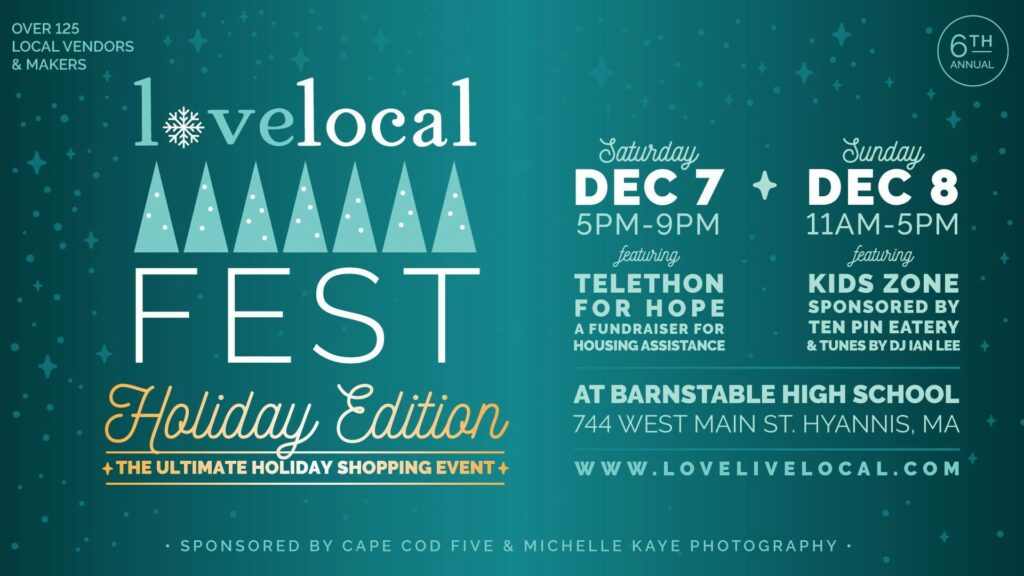 Love Local Fest Holiday Edition 2019 logo
