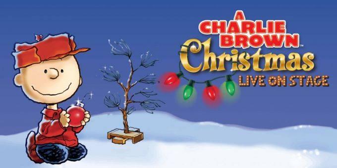 A Charlie Brown Christmas album live concert logo