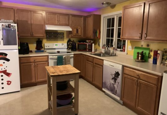 Kitchen of Dighton Woods Circle home