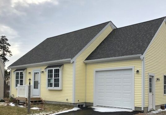 Affordable home being built in Dennis.