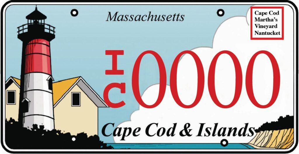 Cape & Islands License Plate