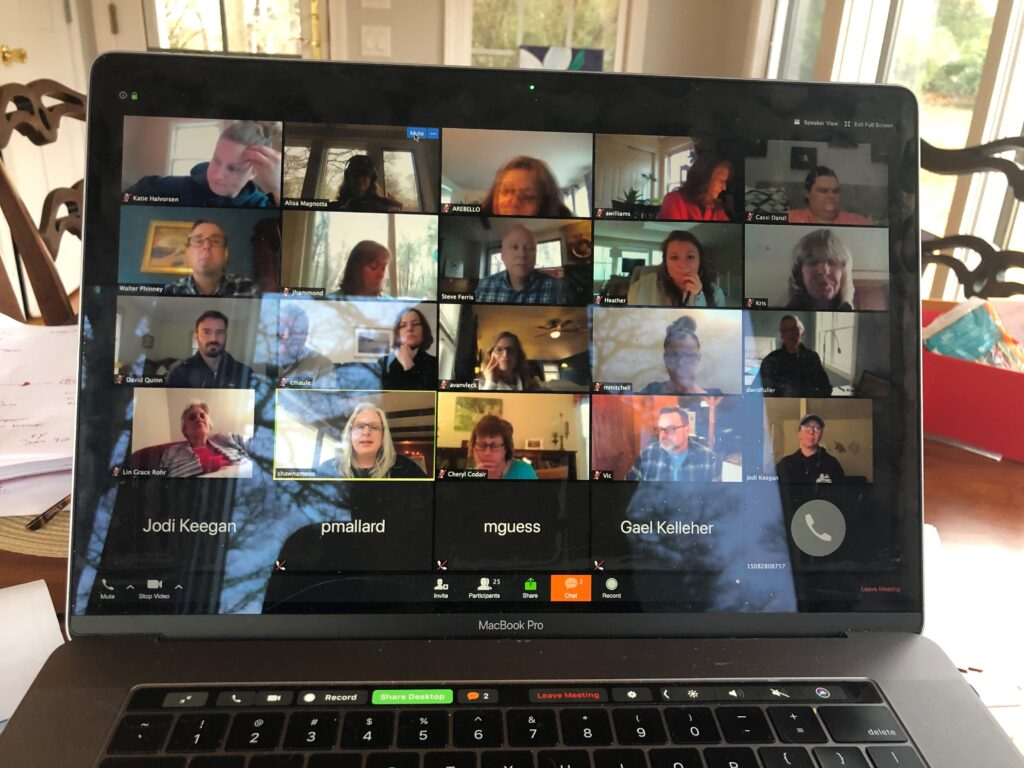 Housing Assistance's management team has been meeting weekly on Zoom/