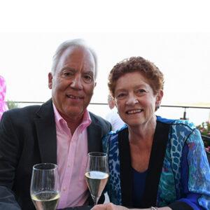Dr. William Rhodes and Margaret Hogan