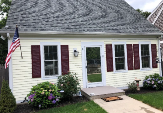 Exterior of Orleans 2-bedroom affordable home for sale