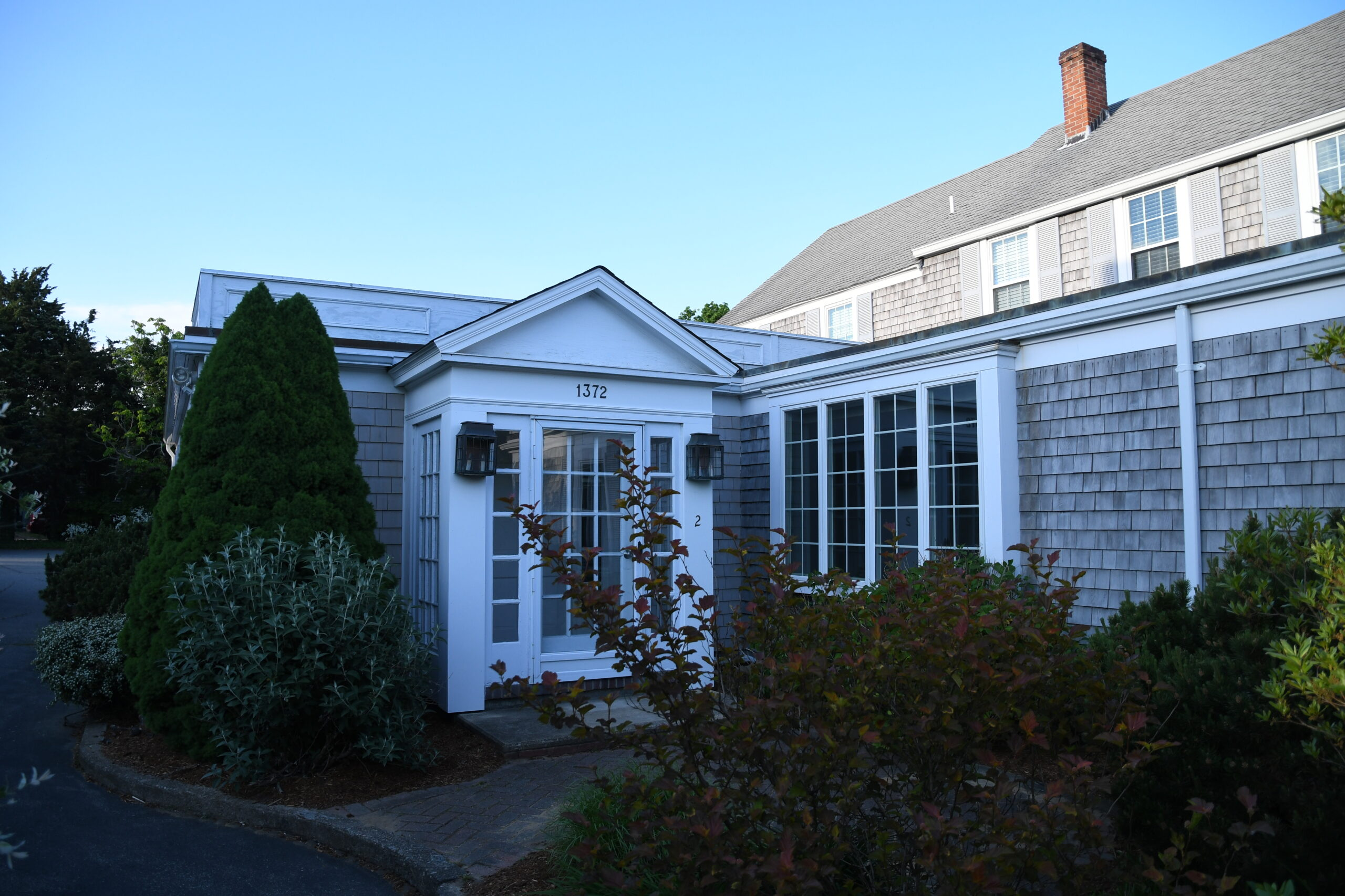 Exterior of affordable condo for sale on Bridge Street in Yarmouth,