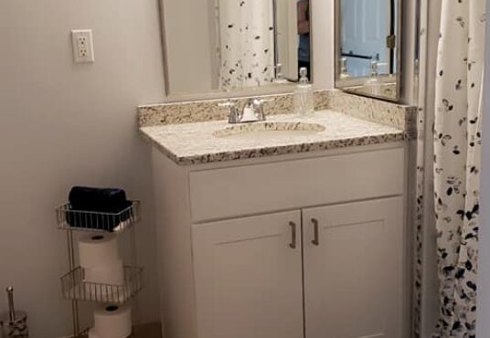 Bathroom to Brewster apartment