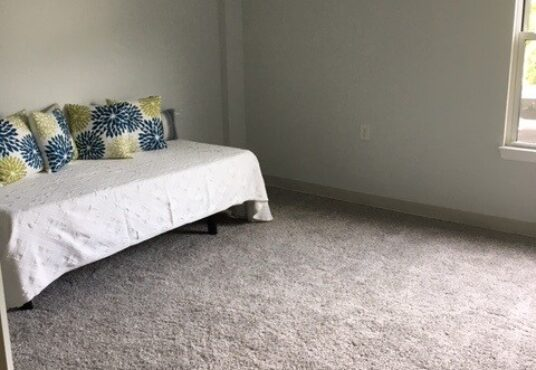 Bedroom in Brewster apartment