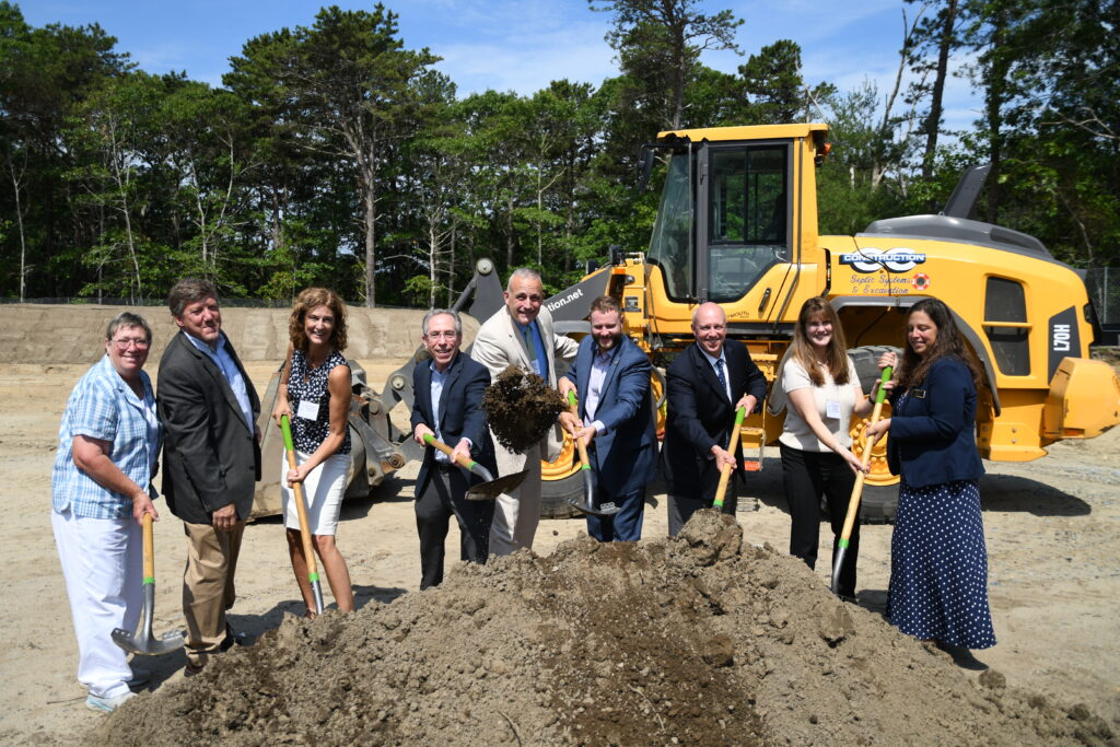 Groundbreaking for Brewster Woods, an affordable housing development Housing Assistance and POAH are building in Brewster.