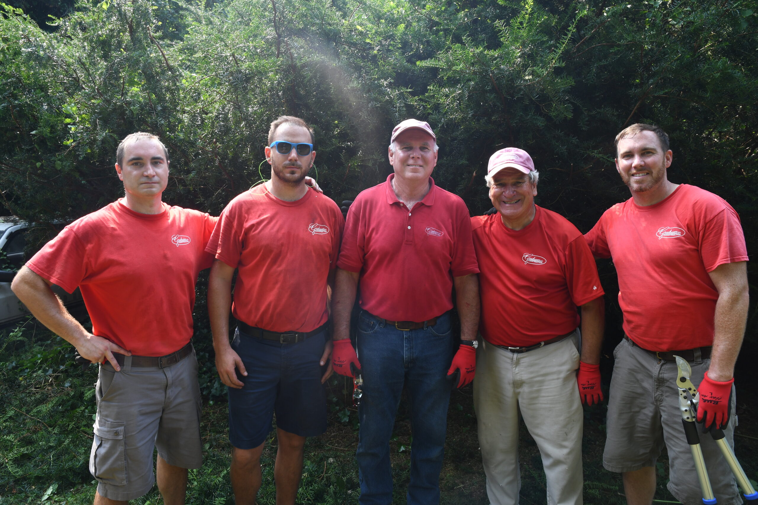 Graham LLC volunteering at this year's Big Fix