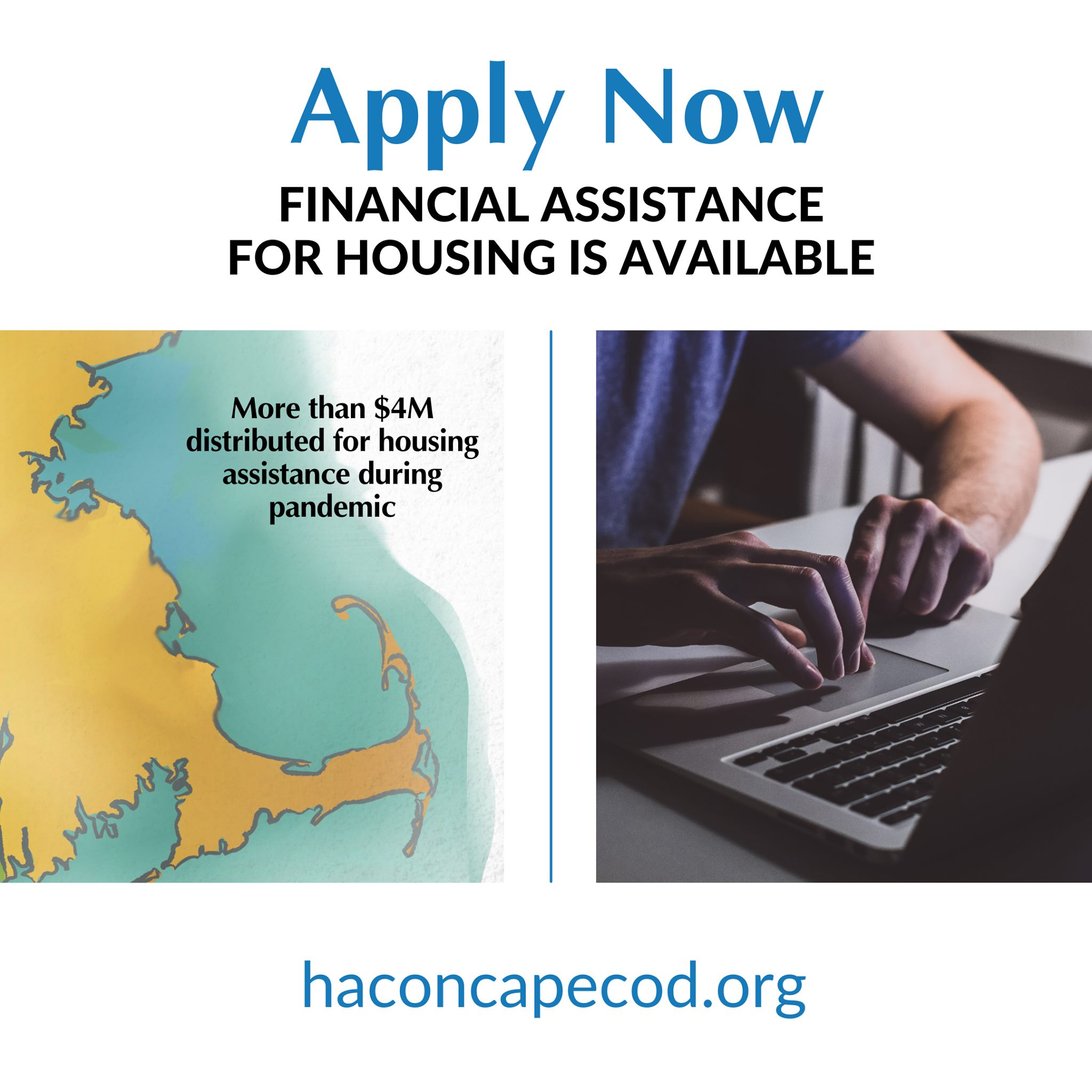 Financial assistance available graphic