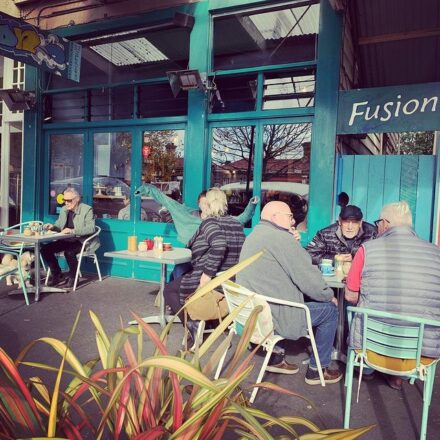 Fusion cafe, Ponsonby Auckland