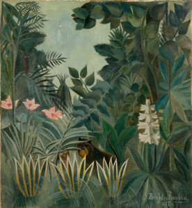 The Equatorial Jungle, Rousseau, National Gallery