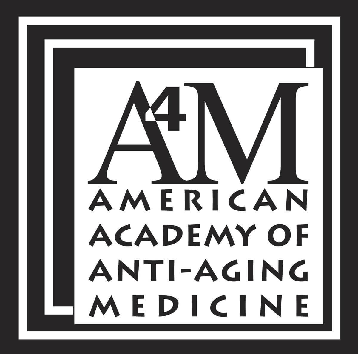A4M logo  American Academy of Anti Aging Medicine