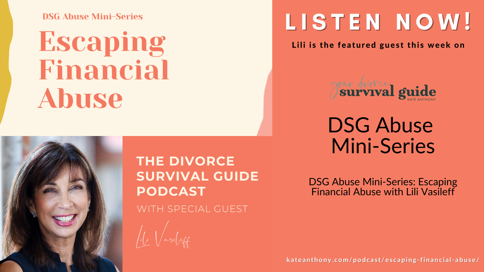 Escaping Financial Abuse on the Divorce Survival Guides Abuse Mini Series