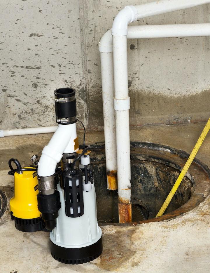 Ron Miller Plumbing Sump Pump
