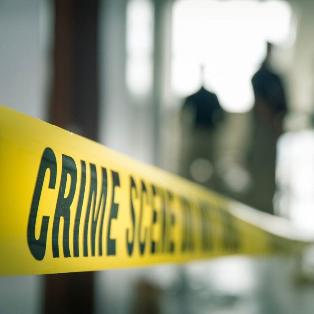 crime scene short-term rental