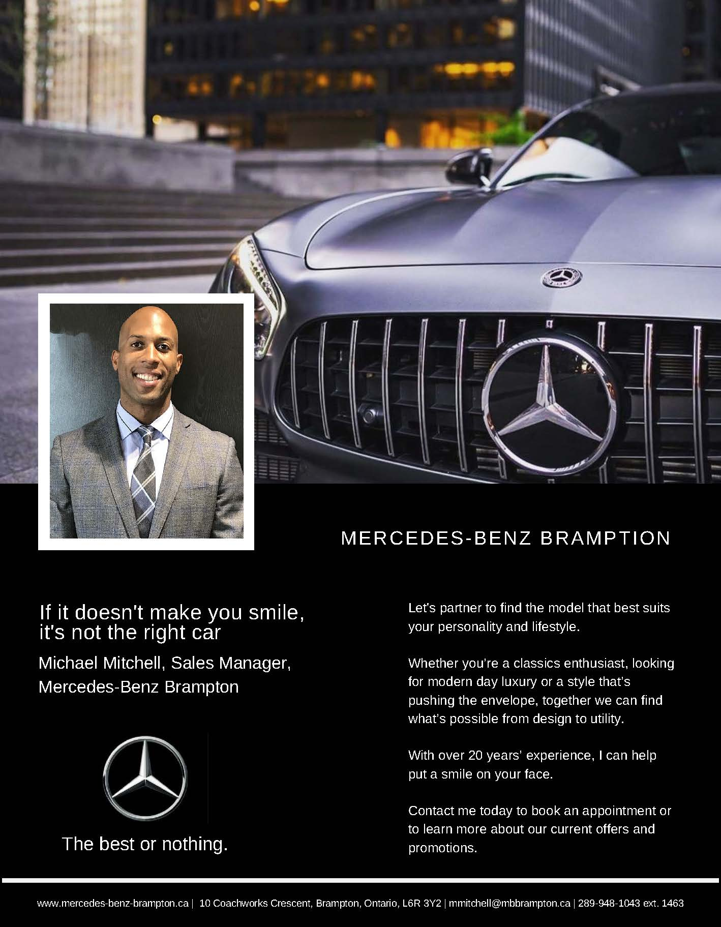 Mercedes Benz Brampton
