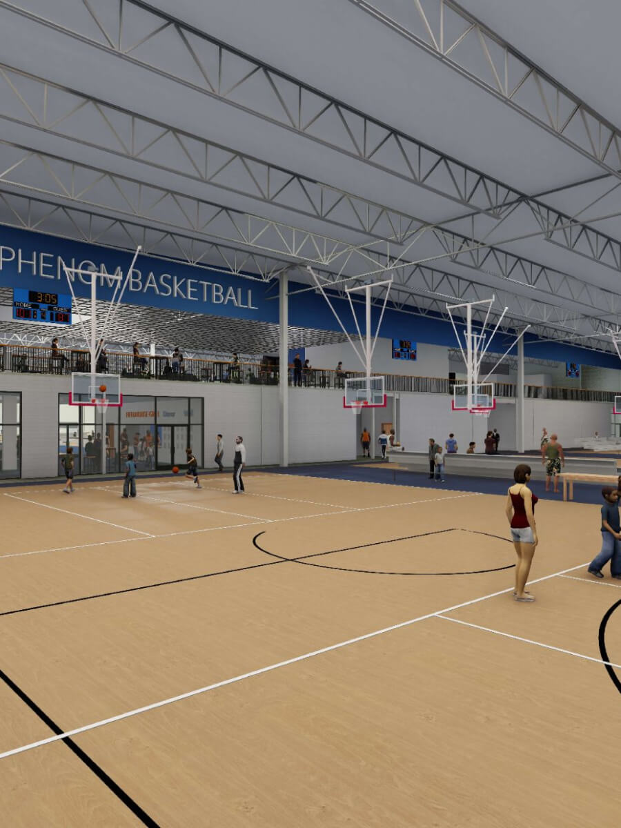 Basketball Court View 2 2200-2