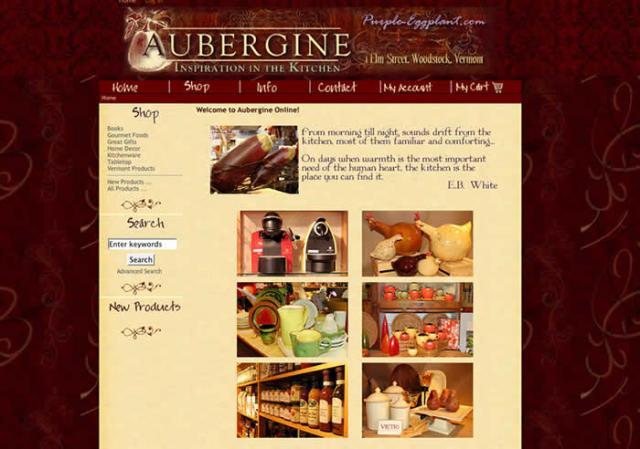 Aubergine redesign 2008