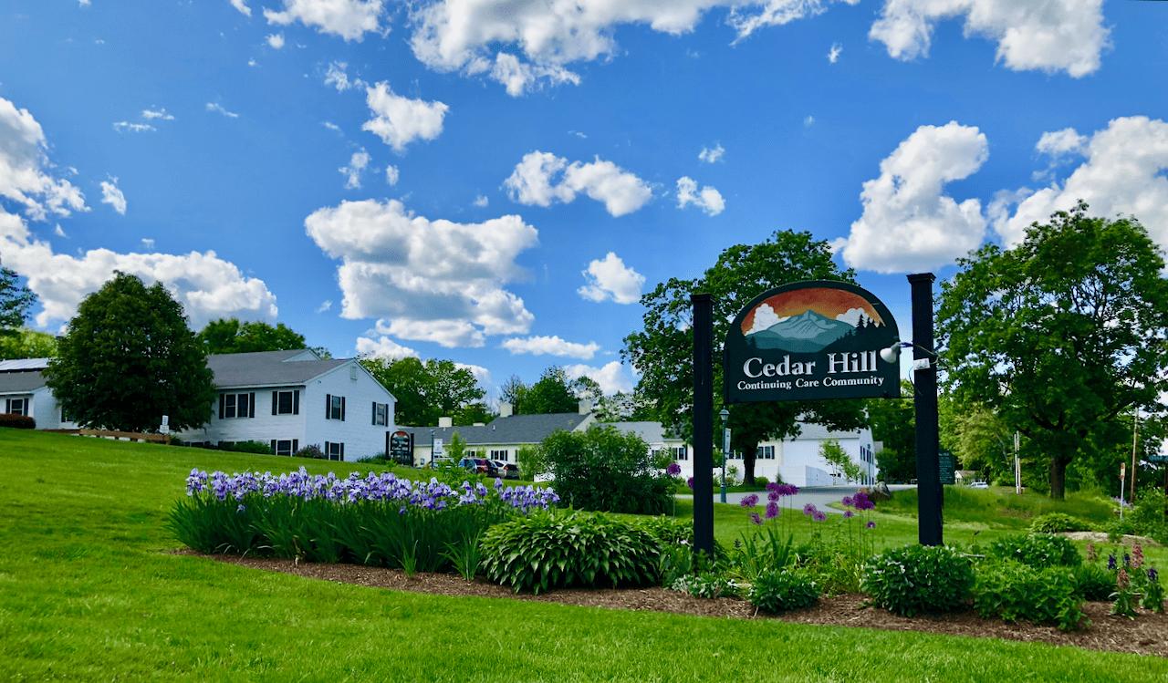 Cedar Hill Continuing Care Community Sign