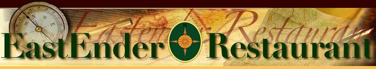 Eastender Restaurant Logo Header