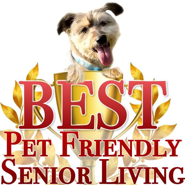 best pet friendly senior living