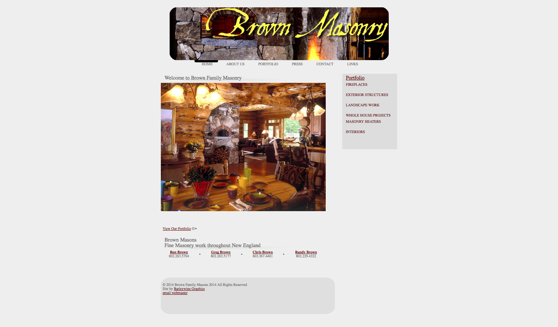 Brown Masonry 2010