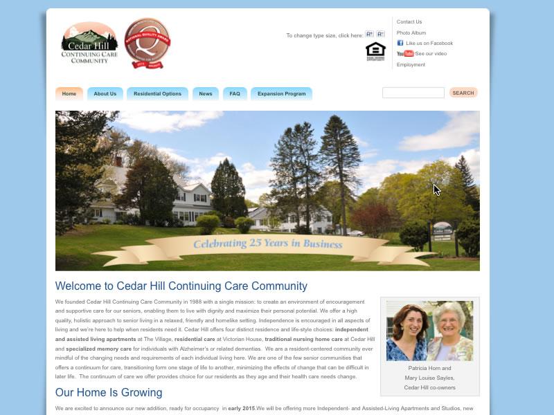 Cedar Hill Continuing Care Community 2014