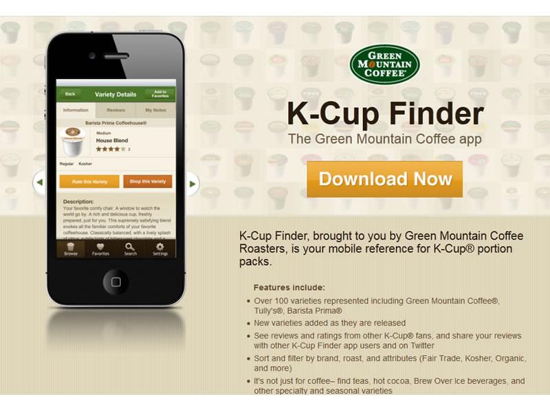 K-Cup Finder App 2011