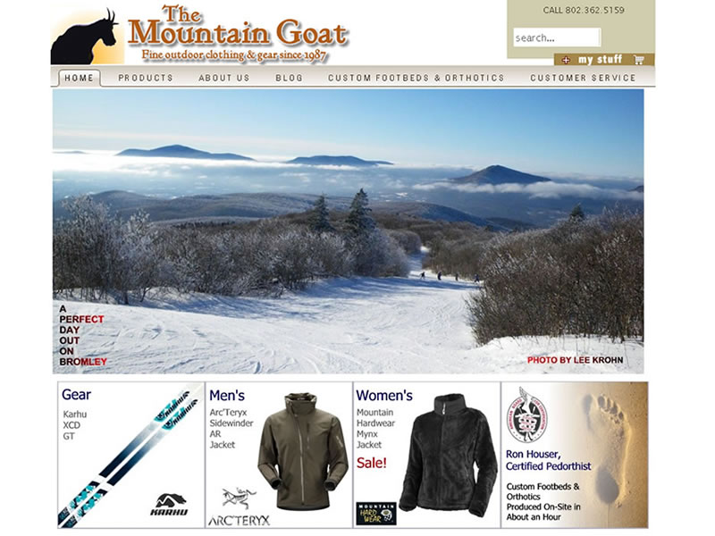 The Mountain Goat 2011 - ecommerce