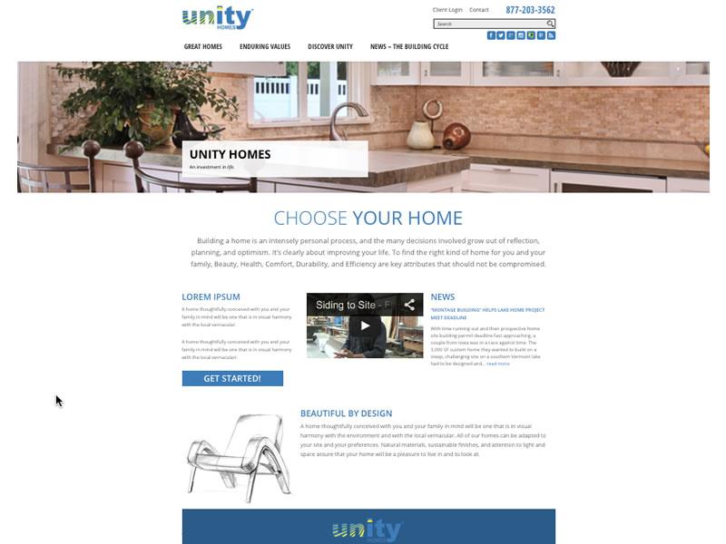 Unity Homes 2015
