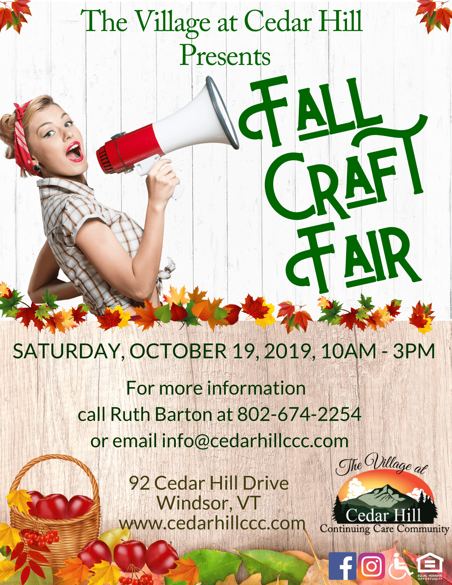 Craft Fair Flyer 2019