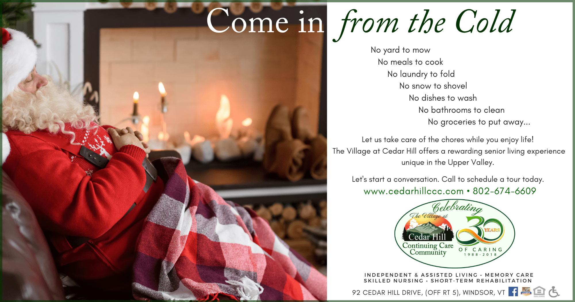 Come in From the Cold Santa 2019 Campaign