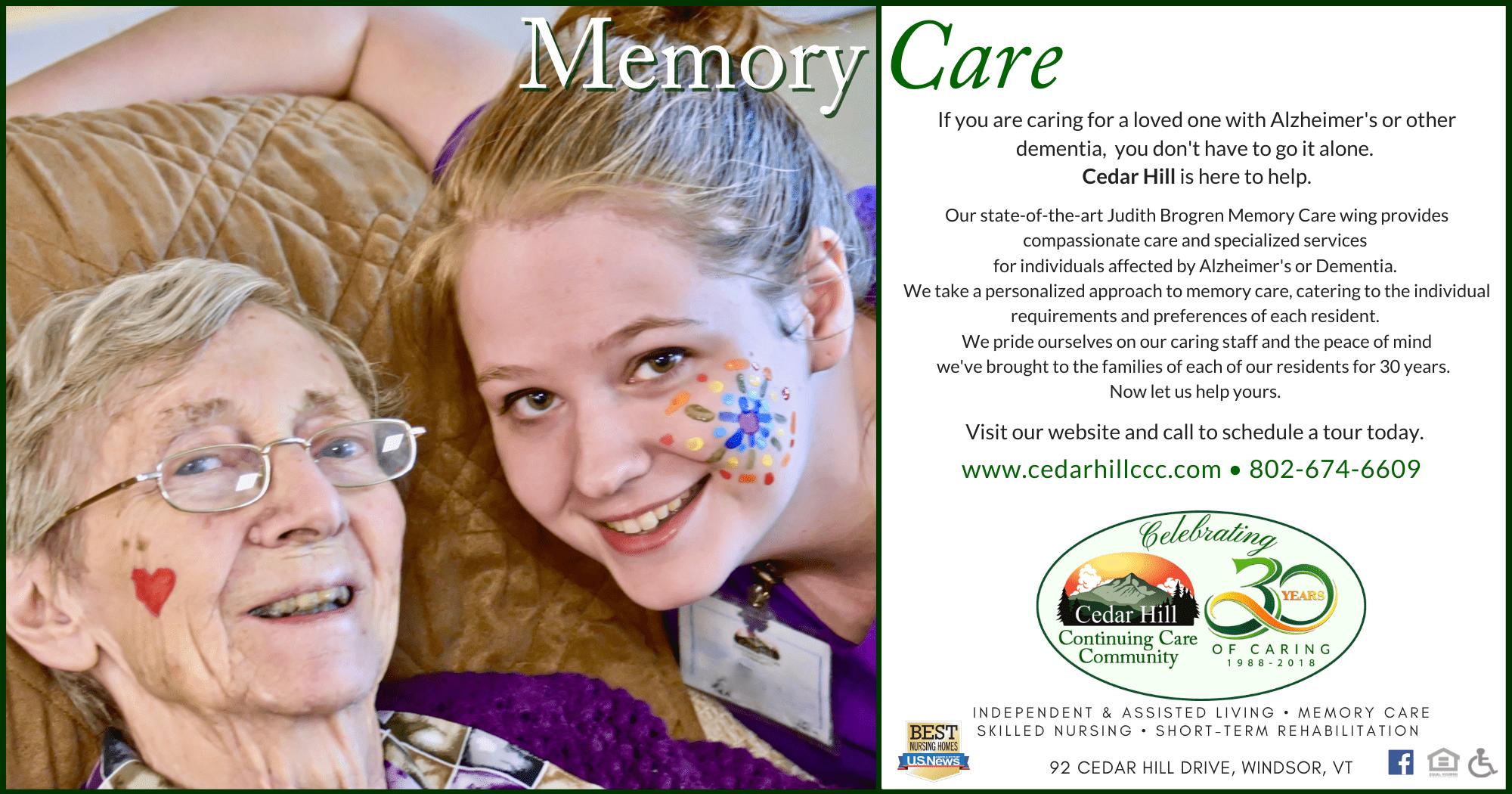 Eagle Times Good Health Guide Campaign Memory Care 2018