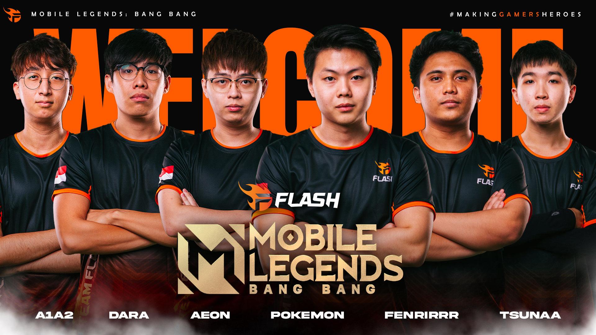 Team Flash trở lại Mobile Legends: Bang Bang