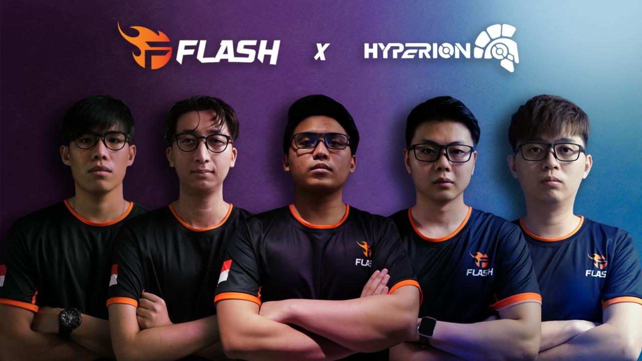 Đội Tuyển Flash Đồng Hành Cùng Thương Hiệu Kính Gaming – Hyperion Gear