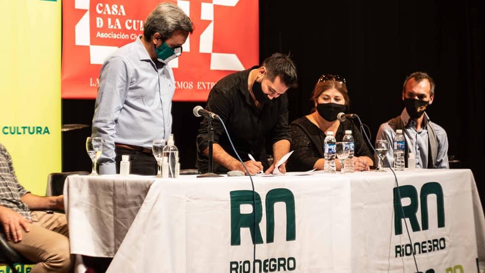 La Filarmónica de Río Negro trabajará con Casa de la Cultura