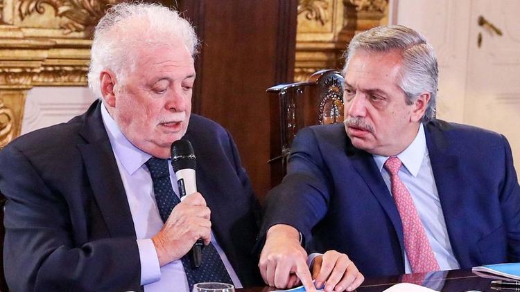 Alberto Fernández pidió la renuncia de Ginés González García