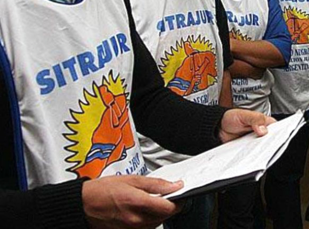 Sitrajur continuará con las medidas de fuerza por reclamo salarial