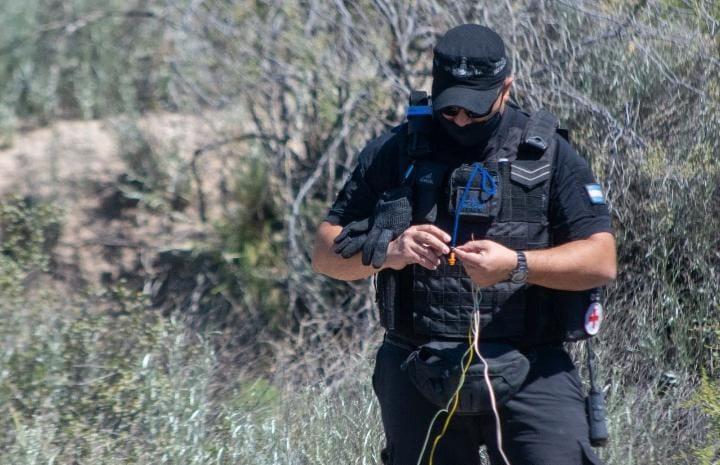 Desactivaron una granada en Roca