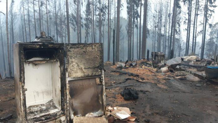 Murió José Rivero, y es la tercera víctima fatal de los incendios en La Comarca
