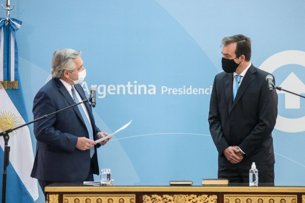 Vídeo: mirá el juramento de Martín Soria como Ministro de Justicia