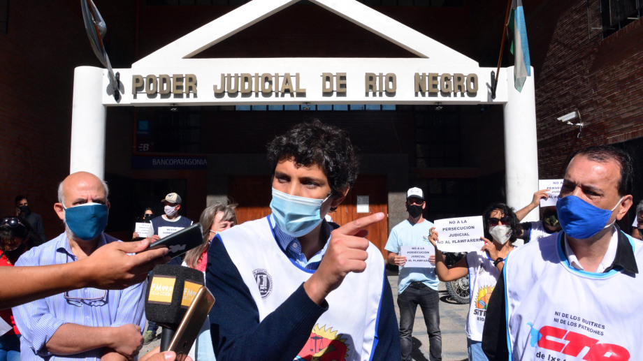 El juez Bustamante revocó la imputación contra Barreno