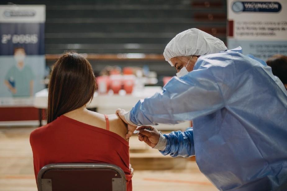 Llegaron otras 8.400 vacunas de Sinopharm