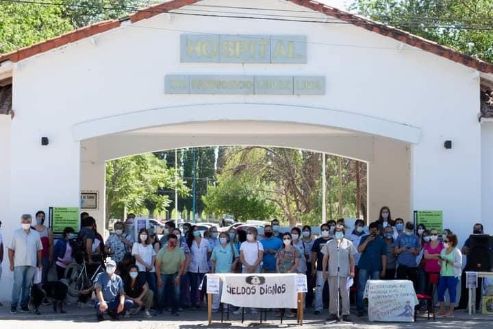 Trabajadores de la salud de Río Negro movilizan a las rutas