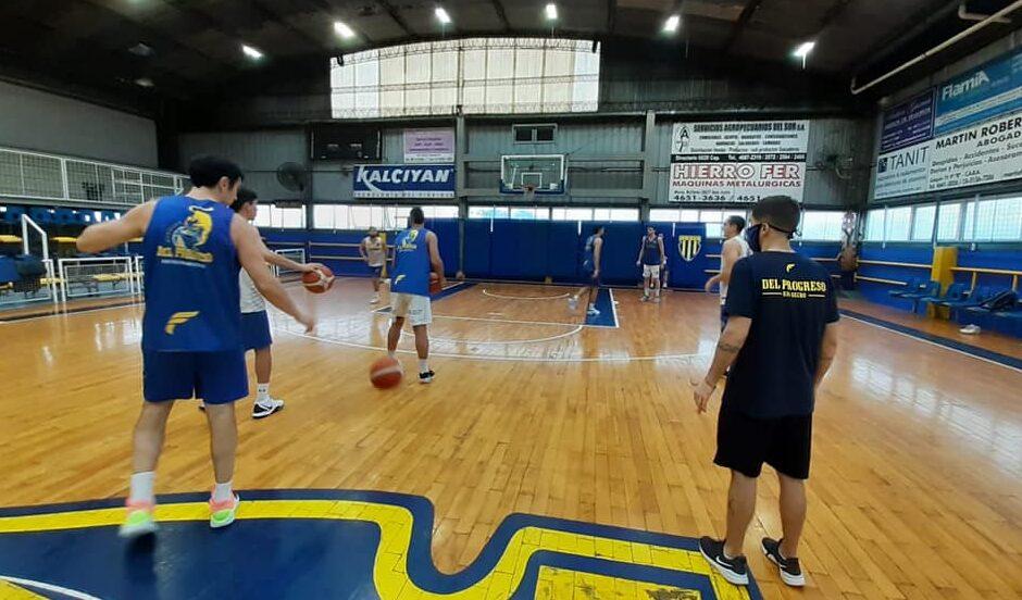 Del Progreso: aislaron al plantel de básquet profesional