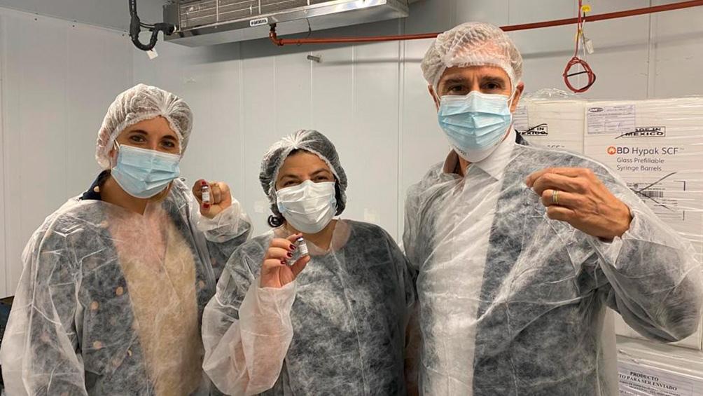 Argentina comenzó a producir la vacuna Sputnik V