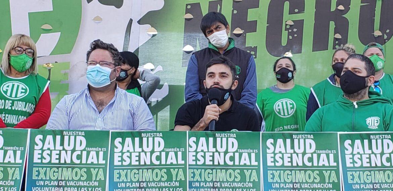 ATE demandó vacunas para trabajadores de los organismos nacionales